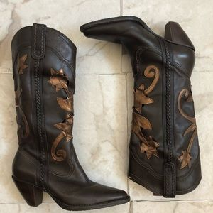 Nordstrom Preview International leather cowboy